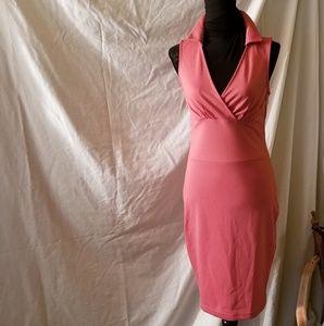 Kardashian, Med., side zip, A line, form fitted